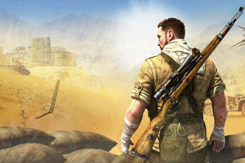 HD Wallpaper | Background ID:798756. 1920x1080 Video Game Sniper Elite 3. 2  Like. Favorite. robokoboto