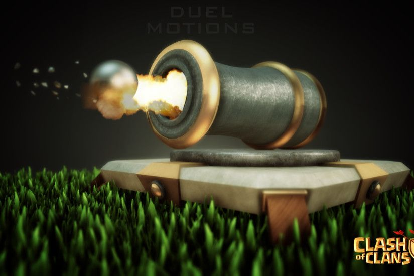 Cannon - Clash of Clans Defensive Building HD Wallpaper