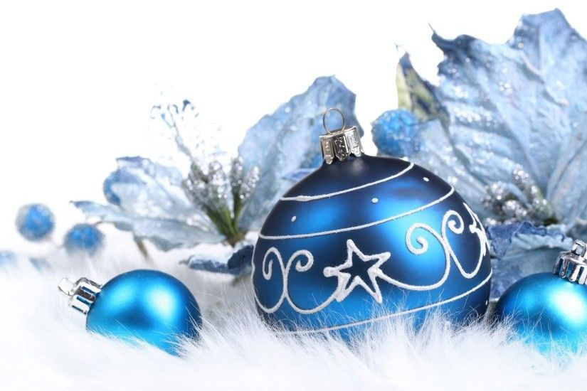 Blue Christmas Background - wallpaper.