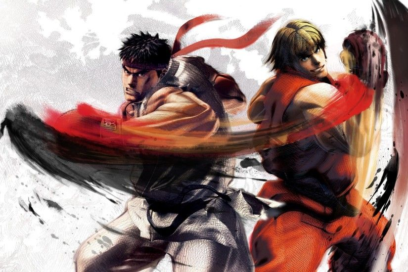 Video Game - Street Fighter Ken Masters Ryu (Street Fighter) Wallpaper