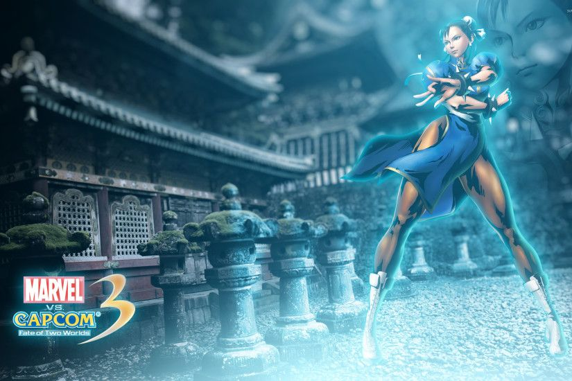 Capcom 3 Chun-Li wallpaper 2560x1600 jpg