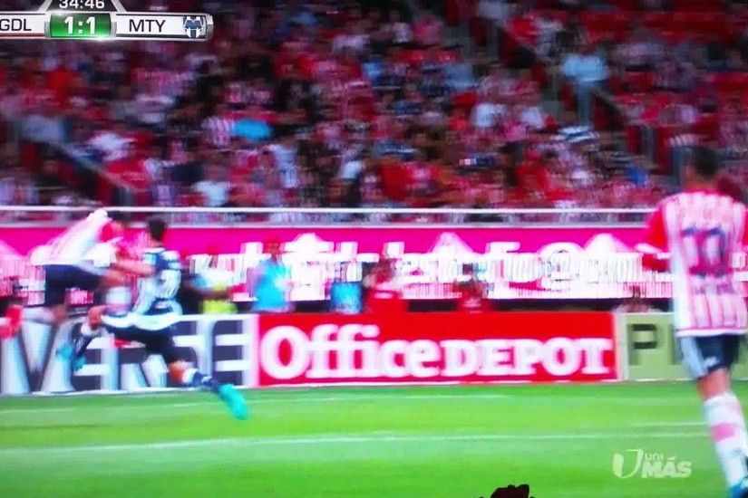 chivas vs monterrey 9/29/2015 - YouTube
