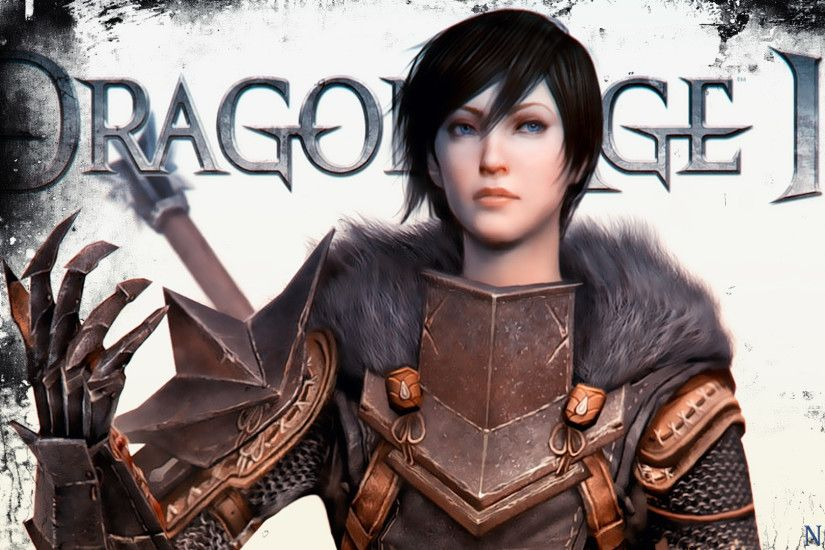 My Dragon Age 2 Female Hawke Wallpaper 2