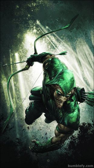 Green Desktop Movie Arrow Wallpaper