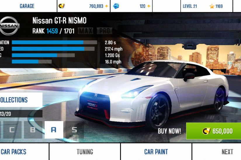 Nissan GT-R NISMO\Performance Stats | Asphalt Wiki | FANDOM powered by Wikia