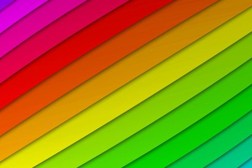 Abstract Art Rainbow Curved Lines Color Vector Background 14 .