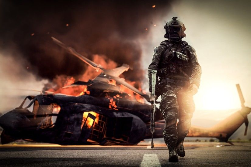Battlefield 4 4k Wallpaper 7