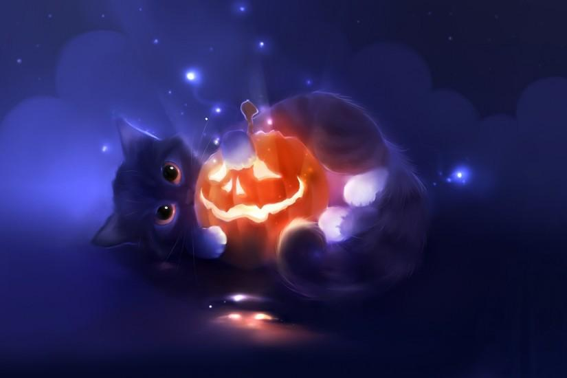 free cute halloween wallpaper 1920x1080