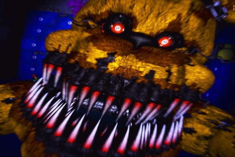 Five Nights At Freddy's 4 - NIGHTMARE FREDBEAR JUMPSCARE! - Night 4 And Night  5 Gameplay - YouTube