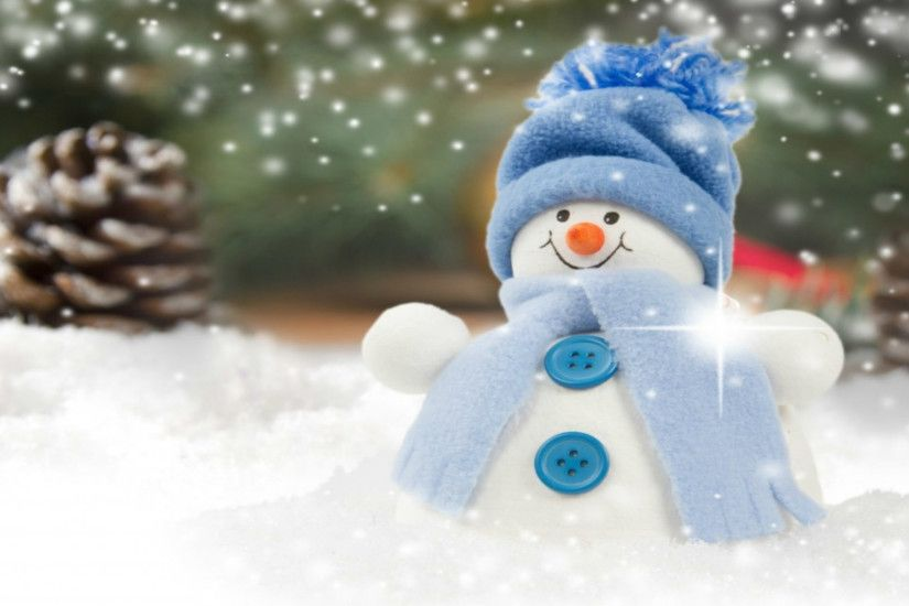 Snowman Desktop Wallpaper 1