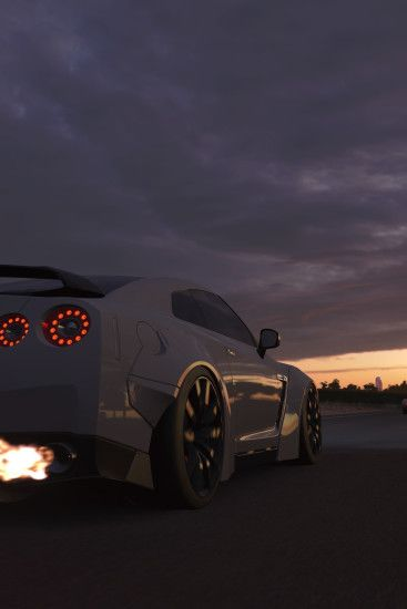 Forza Motorsport 7, video game, Nissan, car, 1440x2960 wallpaper