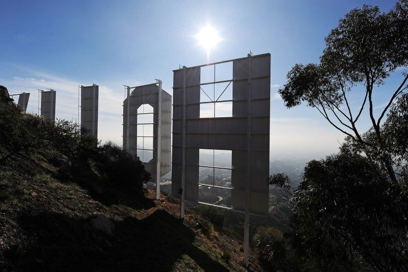 Trademark law stops people filming Hollywood Sign