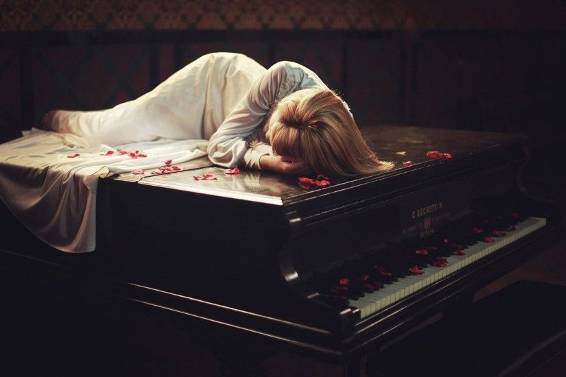 Sleeping On The Piano wallpapers and stock photos