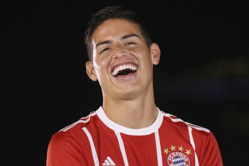 Bayern Munich as big if not bigger than Real Madrid - James Rodriguez -  BeSoccer ...