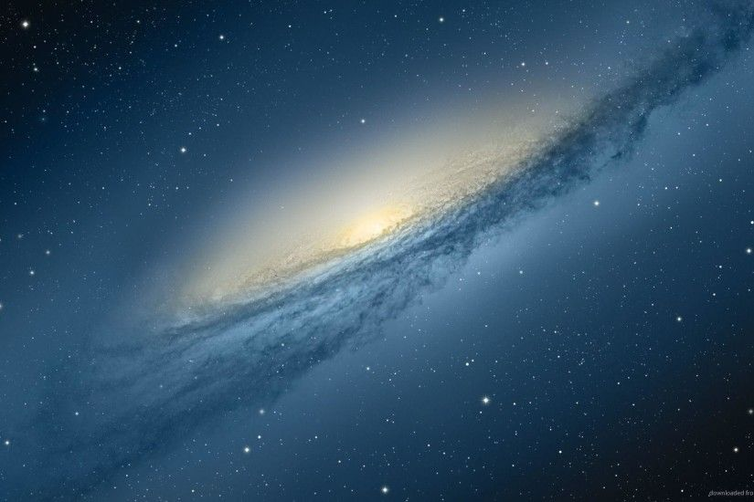 1920x1080 Mac OS X Mountain Lion Andromeda Galaxy Wallpaper