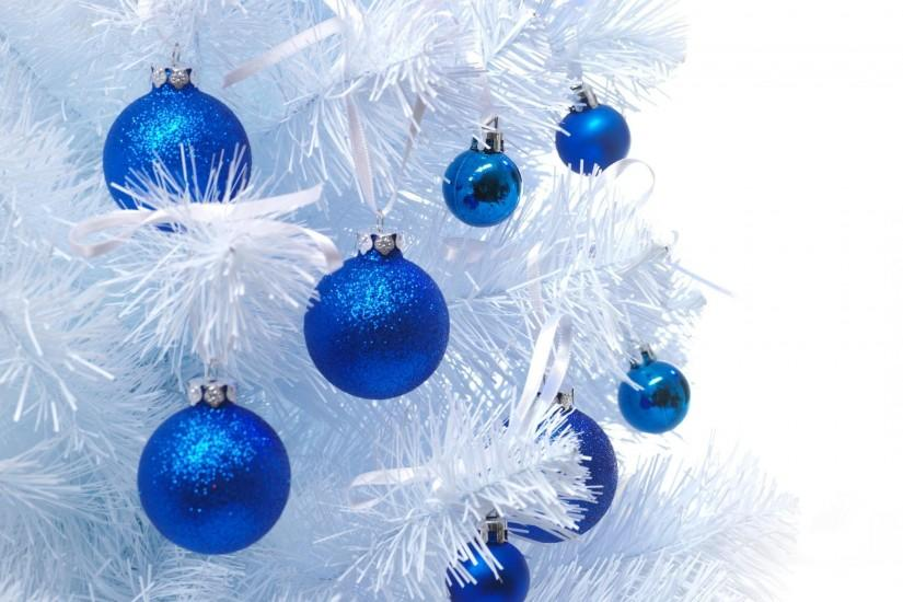 Blue Christmas Tree Background (15)