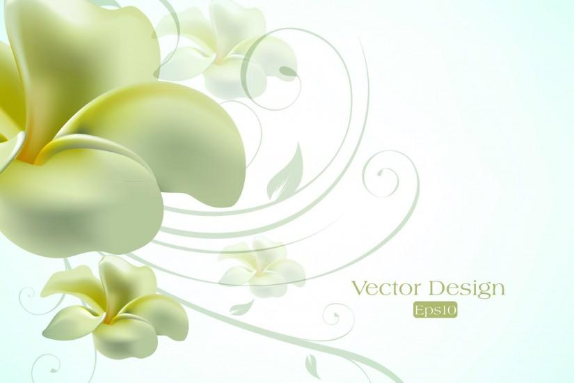Text elegant lily design background vector free vector