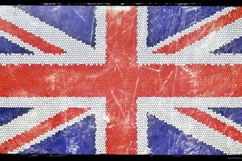 Union Jack Mosaic Desktop for 1920x1080
