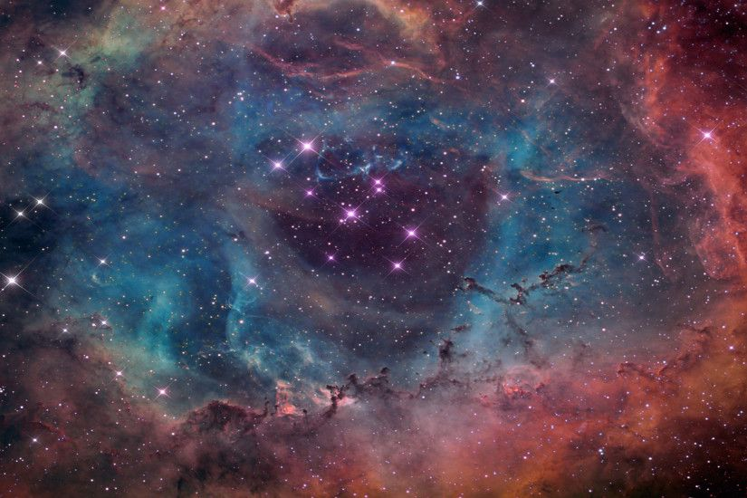Free NASA Hubble Rosette Nebula Space, computer desktop wallpapers,  pictures, images