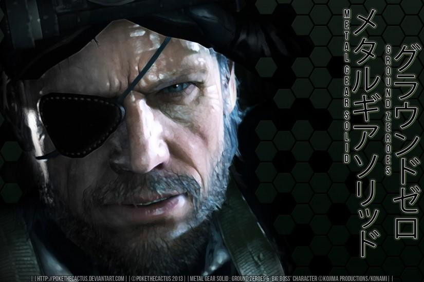 Big Boss Ground Zeroes - Viewing Gallery