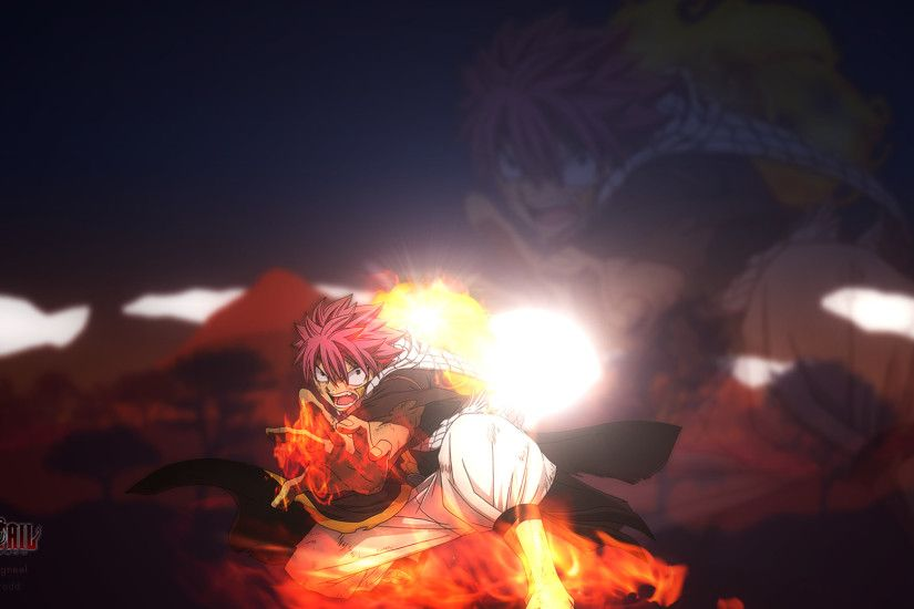 Natsu Dragneel - Fairy Tail 2015 Wallpaper by DenJento on .