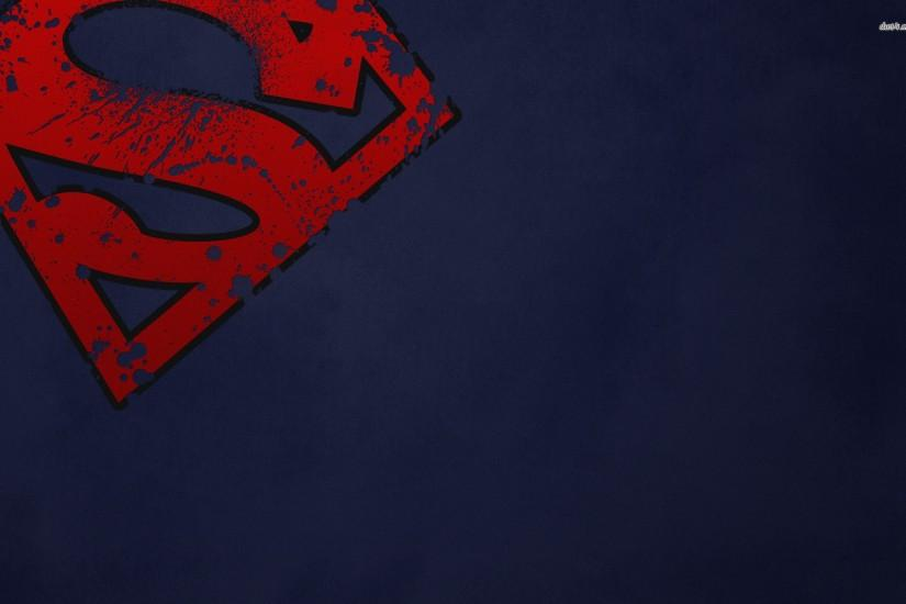 Superman logo Vector Wallpaper. Download