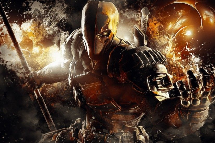 Preview wallpaper deathstroke, dc comics, batman, arkham origins 1920x1080