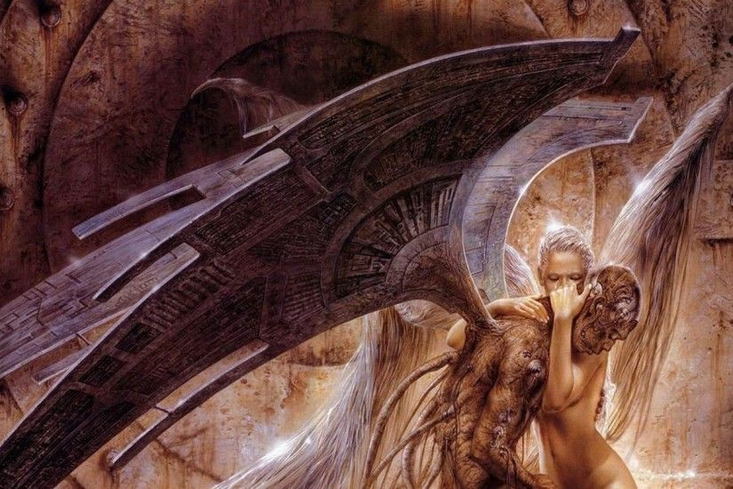 luis royo fallen angel 1280x1024 wallpaper Art HD Wallpaper