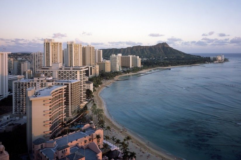 honolulu,oahu,waikiki,beach,hawaii,usa,aerial,ocean,