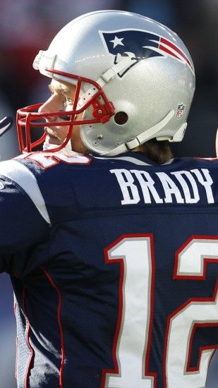 Preview wallpaper tom brady, new england patriots, football 1440x2560