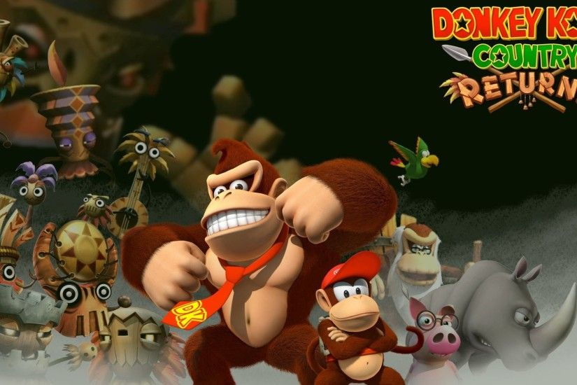 Donkey Kong Country Returns 496748