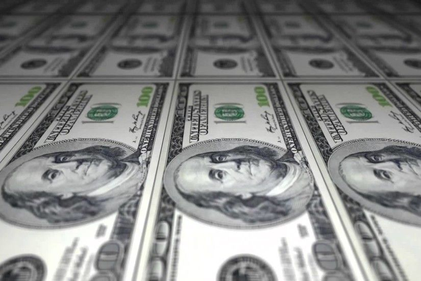 Free Stock Video Download - Printing Dollar Bills - 100 US Dollar Bills -  YouTube
