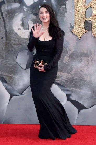 Katie McGrath: King Arthur: Legend of the Sword Premiere -01 - Full Size