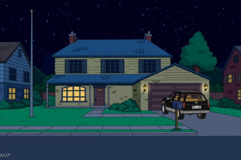 american dad house