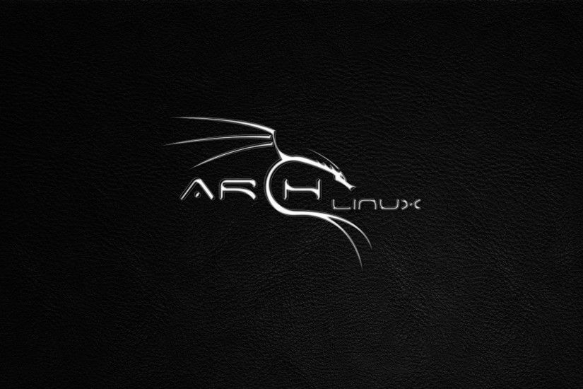 Black Arch Linux Wallpaper - WallpaperSafari