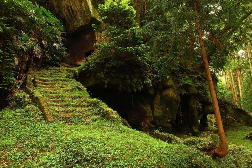 Ancient burial caves of the Zuiganji Temple - Matsushima, Japan The ancient  burial caves, this Buddhist temple was originally founded in 828 as part of  the ...