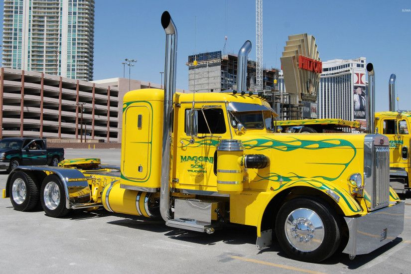 Peterbilt truck [4] wallpaper