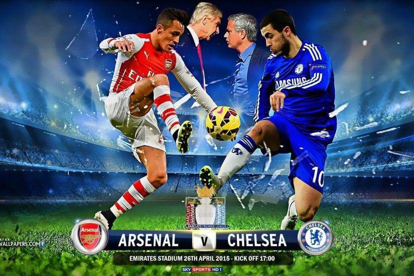 Arsenal FC Vs Chelsea 2015 Barclays Premier League HD Wallpaper