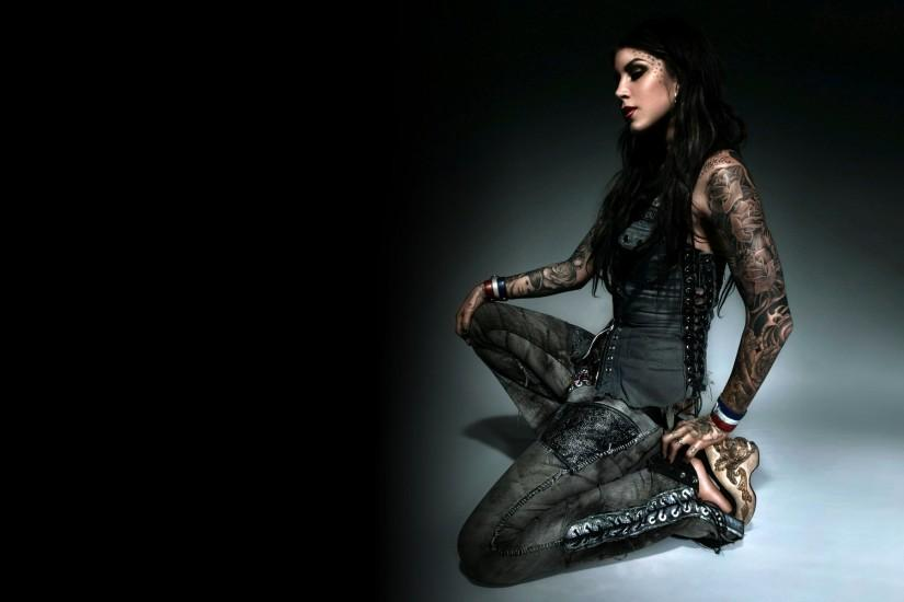 Von D Android Wallpaper, Tattoo Chick Kat Von D HD Wallpapers for .