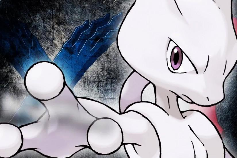 new mewtwo wallpaper 1920x1080 screen