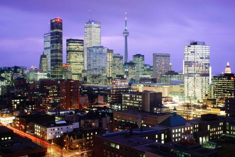 2560x1440 Wallpaper toronto, canada, night, city, lights, light