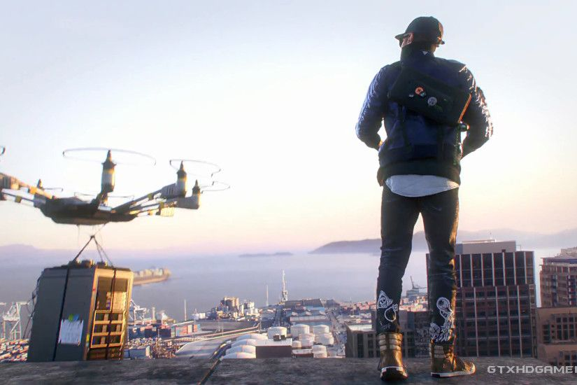 Watch Dogs 2 - Roof Drone ...