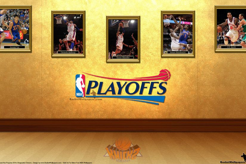 New York Knicks See You In Playoffs 2012 Wallpaper