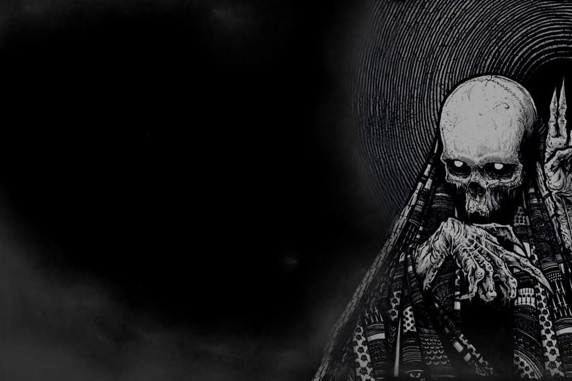 new skull backgrounds 1920x1080
