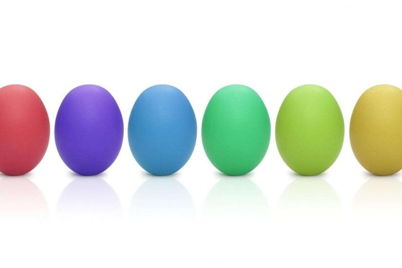 Easter Eggs Rainbow HD Wallpaper » FullHDWpp - Full HD Wallpapers .