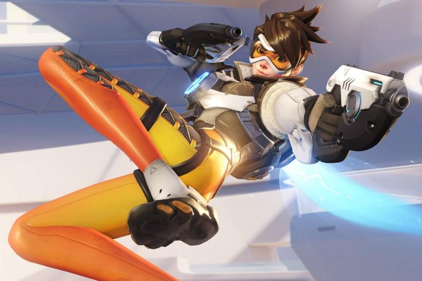 download free overwatch tracer wallpaper 3840x2160