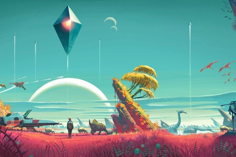 video Games No Mans Sky Wallpapers HD Desktop and Mobile