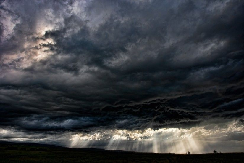 Cool dark clouds weather #wallpaper