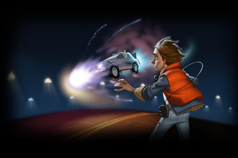 Back To The Future Game Wallpaper 244478 ...