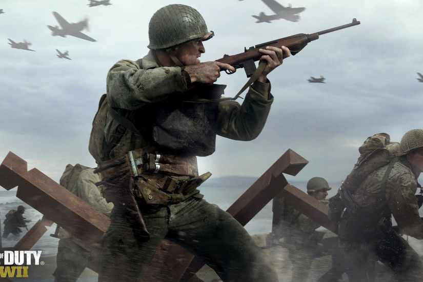 CALL OF DUTY WWII 4K Wallpaper ...